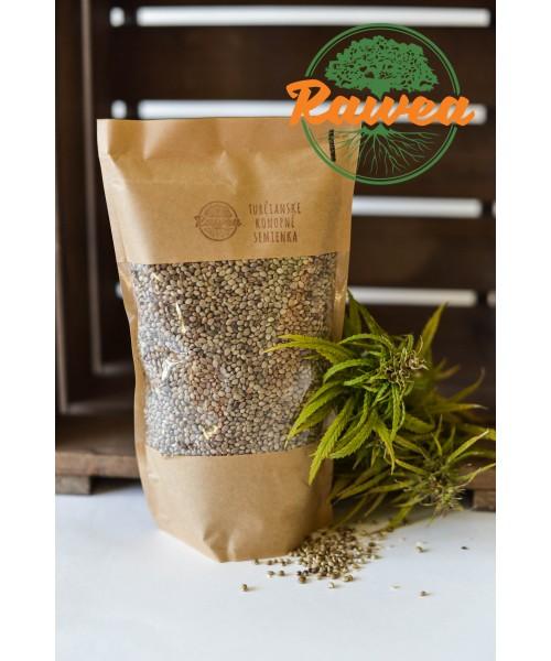 Turčianske konopné semienka čisté natur 1000 g