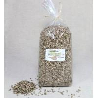 Konopné semienka čisté, nelúpané 1000 g